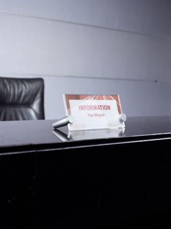 Crystal sign desk 170x120 mm transparent3