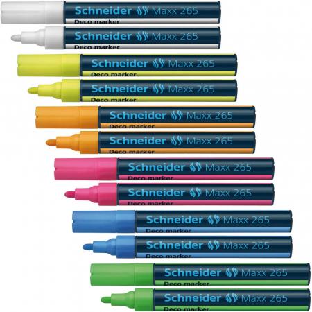 Deco marker tip creta Schneider 265 - varf 1-3mm4