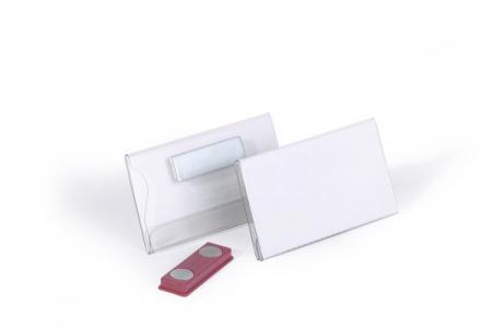 Ecuson Magnetic 40x75 mm (set 25 buc, transparent)2