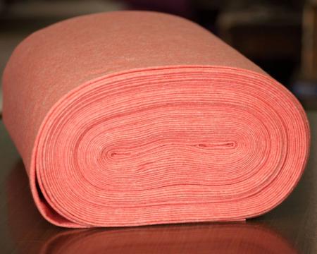 Fetru IDEA (60% lana, 40% viscoza) 50cm x 140 cm latime- piersica [0]