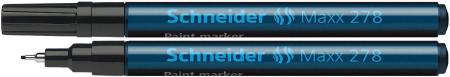 Paint marker Schneider 278 - varf 0.8mm - auriu argintiu si diverse culori1