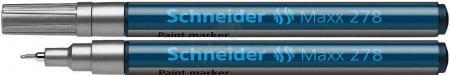 Paint marker Schneider 278 - varf 0.8mm - auriu argintiu si diverse culori0