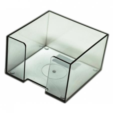 Suport pt. cub hartie 9x9 plastic transparent [1]