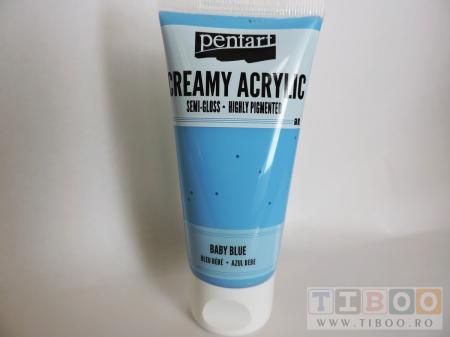 Vopsea acrilica cremoasa 60 ml- baby blue [0]