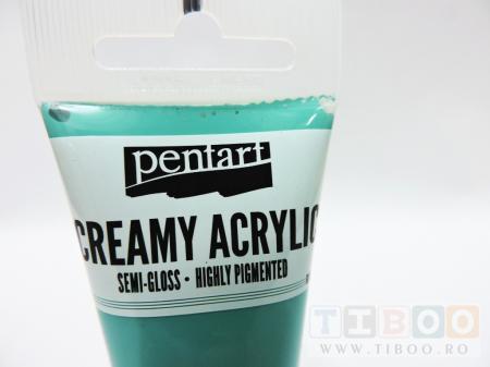 Vopsea acrilica cremoasa 60 ml- jade1