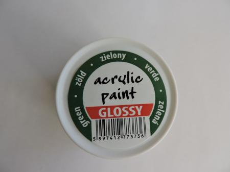 Vopsea acrilica lucioasa 50 ml- verde [1]