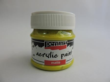 Vopsea acrilica mata 50 ml- lime [0]