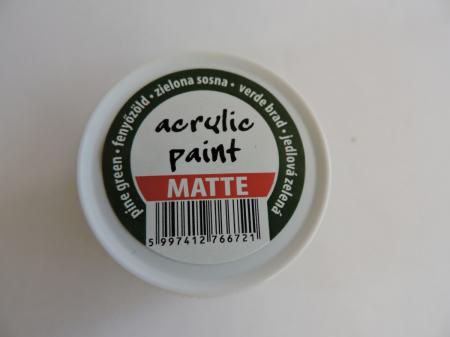 Vopsea acrilica mata 50 ml- verde brad [1]
