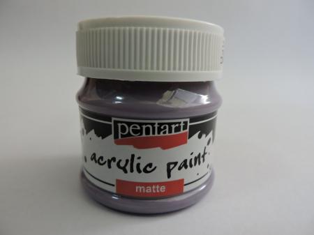 Vopsea acrilica mata 50 ml- violet deschis [0]
