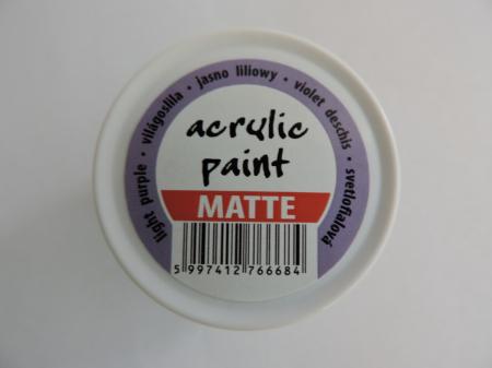 Vopsea acrilica mata 50 ml- violet deschis [1]