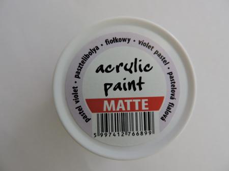 Vopsea acrilica mata 50 ml- violet pastel [2]