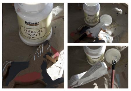 Vopsea decorativa Soft 100 ml- alb murdar [3]