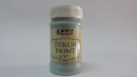 Vopsea decorativa Soft 100 ml- albastru country [0]