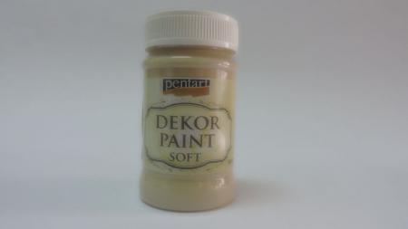 Vopsea decorativa Soft 100 ml- Cappucino0