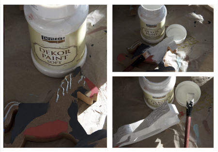 Vopsea decorativa Soft 100 ml- grafit [5]