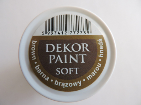 Vopsea decorativa Soft 100 ml- maro [2]
