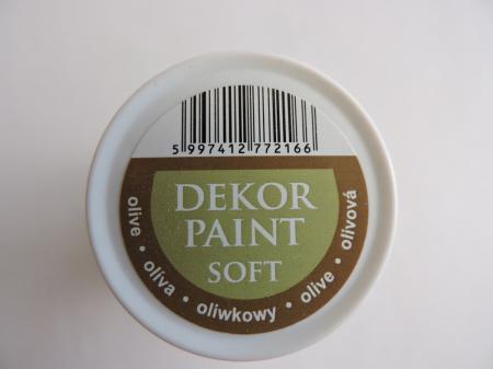 Vopsea decorativa Soft 100 ml- masliniu [2]