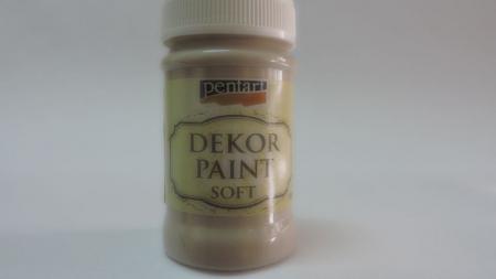 Vopsea decorativa Soft 100 ml- migdale [0]