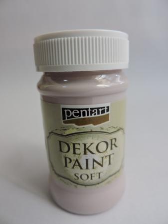 Vopsea decorativa Soft 100 ml- roz victorian [0]