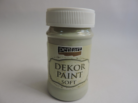 Vopsea decorativa Soft 100 ml- verde muschi [0]