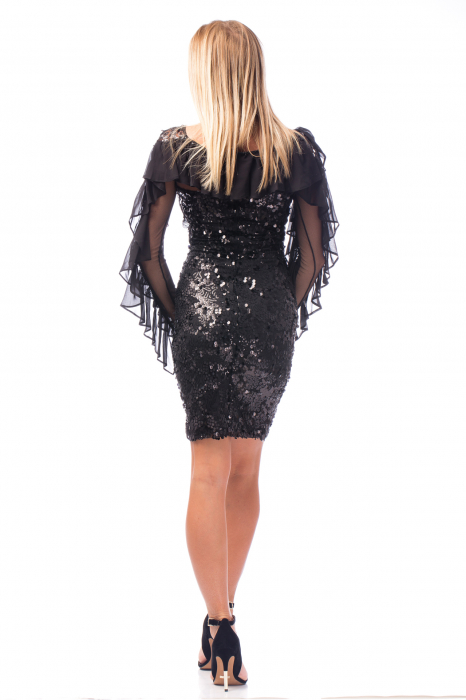 Rochie elegantă cu paiete 2