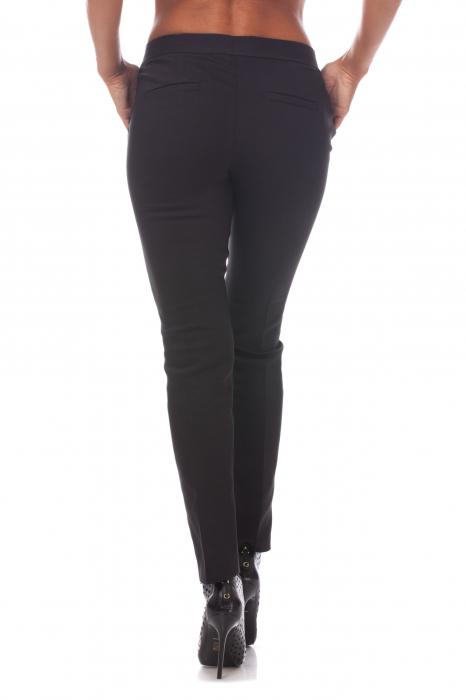 Pantaloni clasici din tercot negru 1