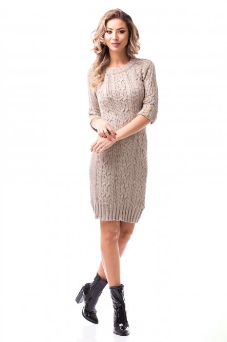 Rochie tricotată medie 0