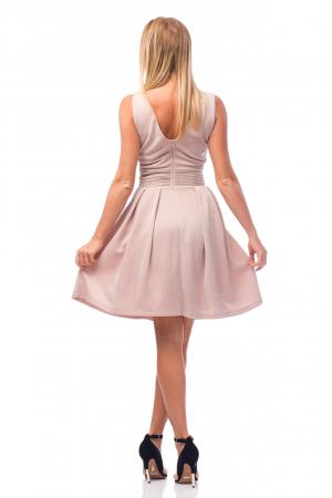 Rochie elegantă cu strasuri aplicate pe talie2