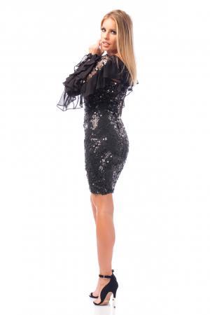 Rochie elegantă cu paiete3