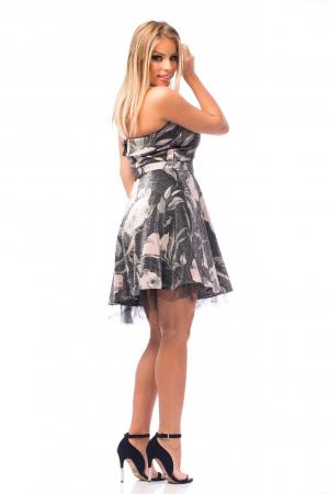 Rochie elegantă cu elemente florale4