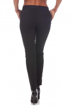 Pantaloni clasici din tercot negru1