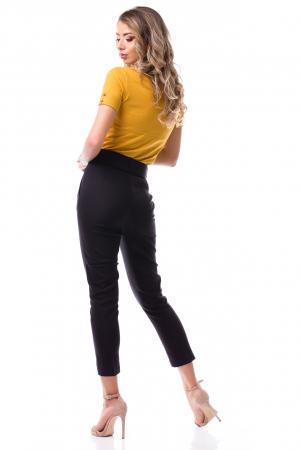 Pantaloni office cu talie înaltă5