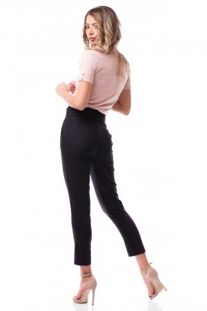 Pantaloni office cu talie înaltă3