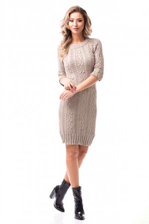 Rochie tricotată medie0