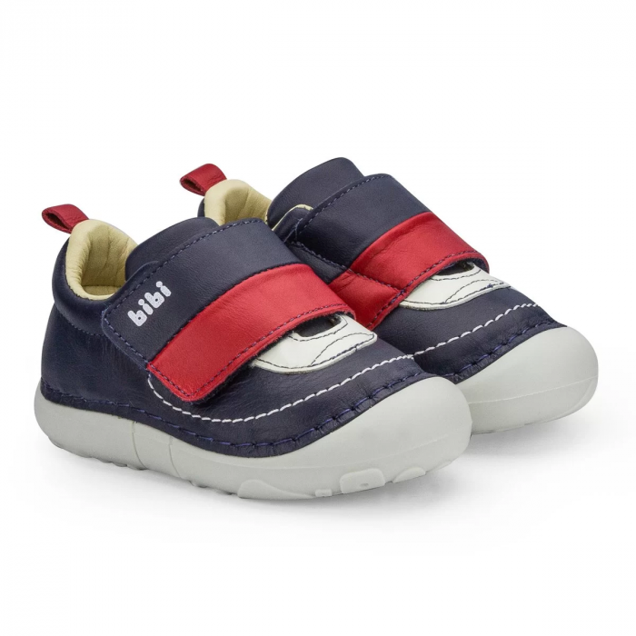 Pantofi Baieti Bibi Grow Naval Cu Clapeta [0]