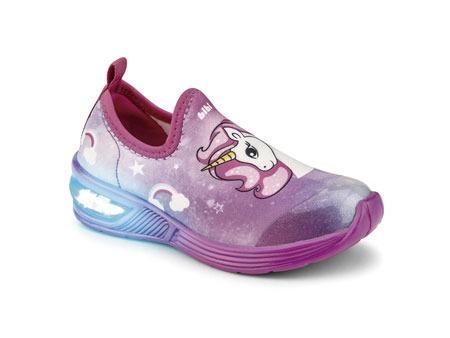 Pantofi Fete LED Bibi Space Wave 2.0 Unicorn Degrade [0]