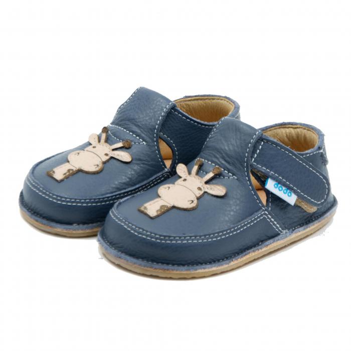 Pantofi smokey cu girafa, Dodo Shoes 1