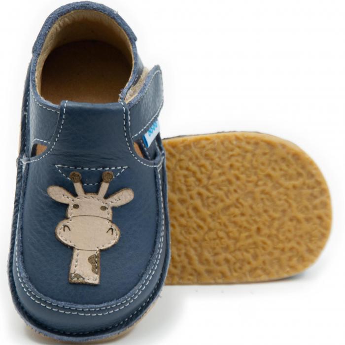Pantofi smokey cu girafa, Dodo Shoes 0