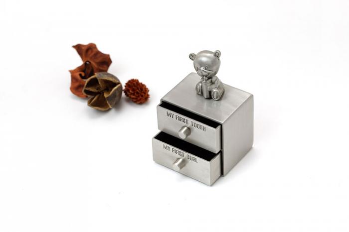 Set cutiute argintate pentru prima suvita si primul dintisor [0]