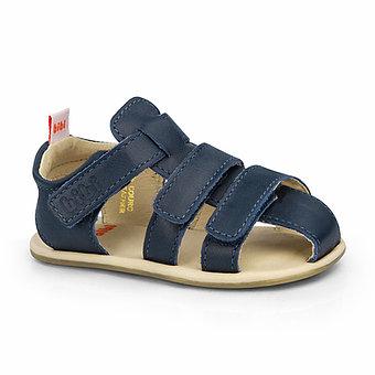 Sandale Bibi Afeto Joy Navi cu velcro 1