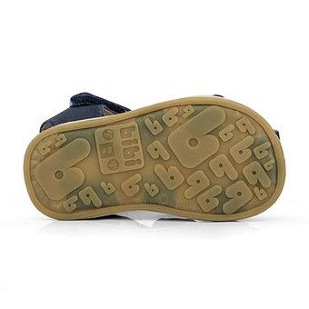 Sandale Bibi Afeto Joy Navi cu velcro 2