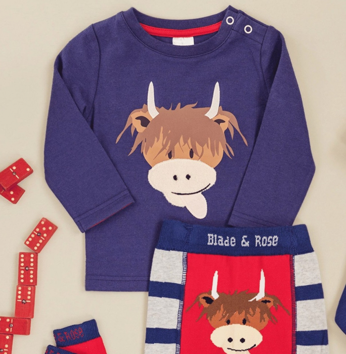 Bluza blade and rose cow [0]