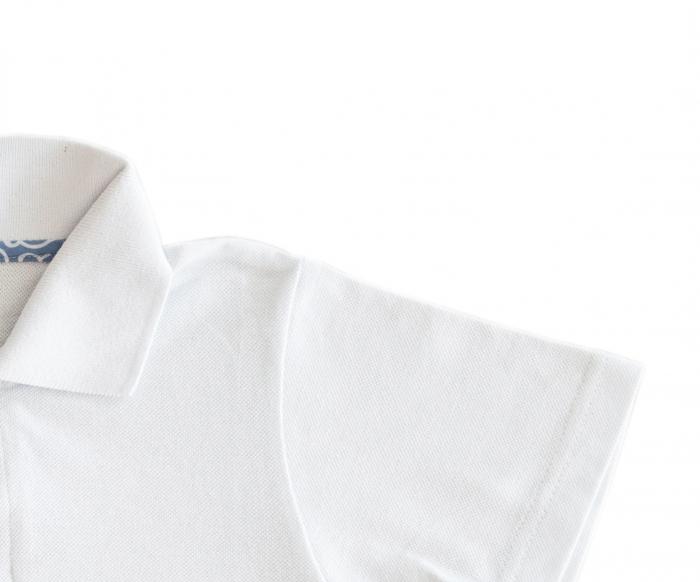 polo alb mâneca lunga TinTin Shop [1]