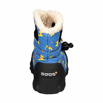 BOGS Footwear cizme de iarnă impermeabile B-MOC Lightning Royal Blue Multi [1]