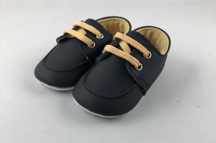 Pantofi bleumarin pentru baieti, TinTin Shop 0