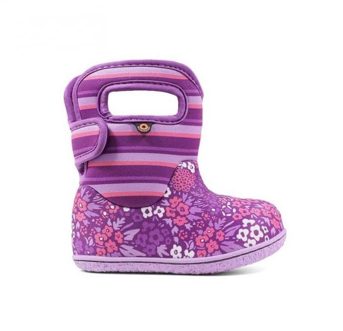 Cizme impermeabile copii, Bogs Footware, Nw Garden Purple 0