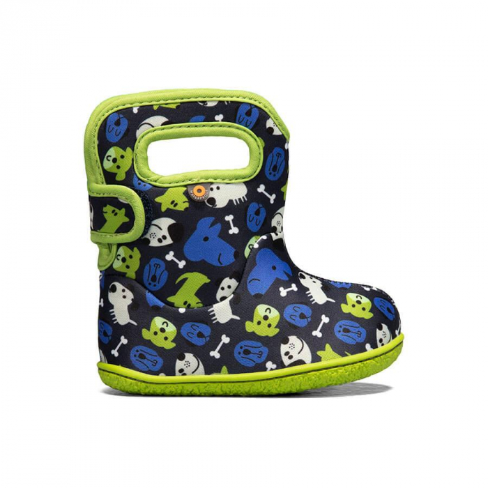 Cizme impermeabile copii, BOGS FOOTWARE, Puppy Blue 0