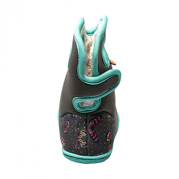 Cizme impermeabile copii, BOGS FOOTWARE, YOUNGSTER Butterfly Gray 2