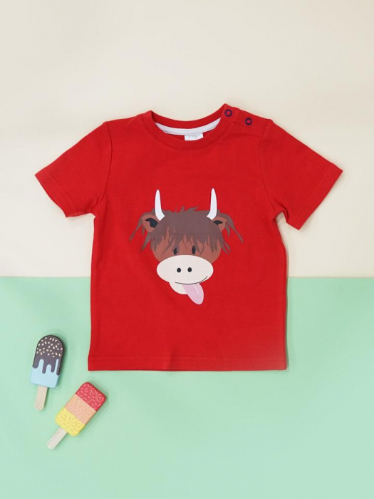 Tricou blade and rose cow [0]
