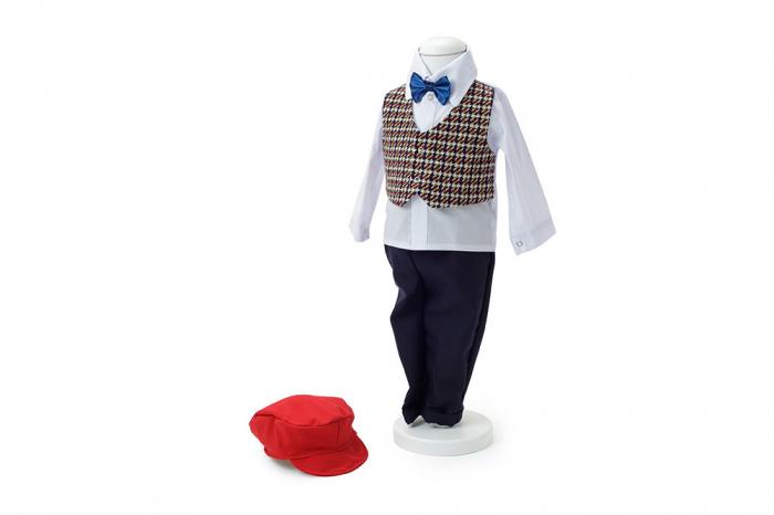 Costum botez rosu, TinTin Shop [1]